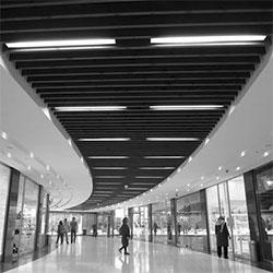 طراحی داخلی مجتمع تجاری فدک ۳