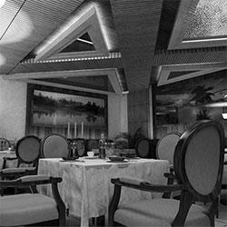 طراحی داخلی هتل دلیر
