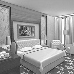 طراحی داخلی هتل پردیسان