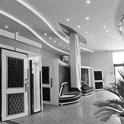 طراحی داخلی هتل طوبی مشهد