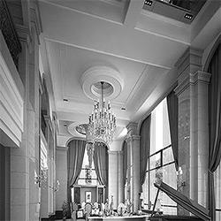 طراحی داخلی هتل علیزاده