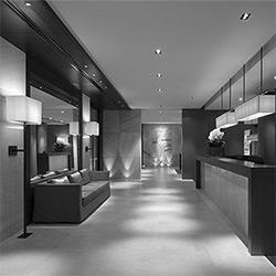 طراحی داخلی هتل بدر