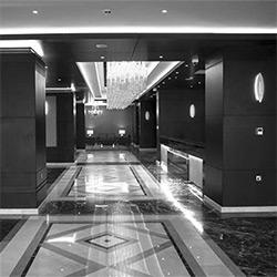 طراحی داخلی هتل بارون