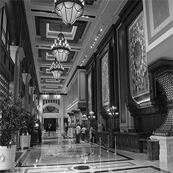 طراحی داخلی هتل قدس