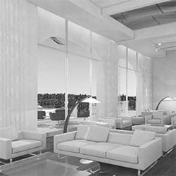 طراحی داخلی هتل آپارتمان حمیدی